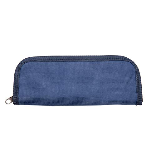 Portable Insulin Cooler Bag Diabetic Patient Organizer Travel Insulated Cooler Case(Navy Blue)