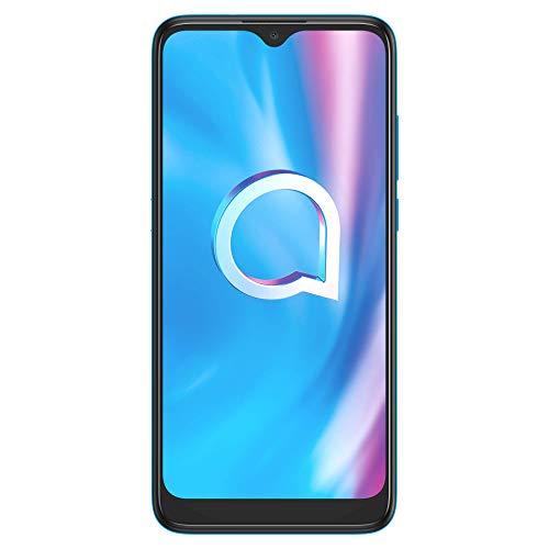 Alcatel, 4087 1SE LE, Lite Edition 2021 - Smartphone 4G Dual Sim, Display 6.22  HD+, 32 GB, 2GB RAM, Dual Camera, Android 10, Batteria 4000 mAh, Light Blue [Italia]