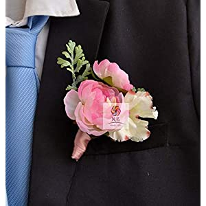 Artificial and Dried Flower Daisy Orchids Party Prom Wedding Flowers Wedding Boutonniere Branches Mix Colors Corsage Pin Groom Anemone Groomsman