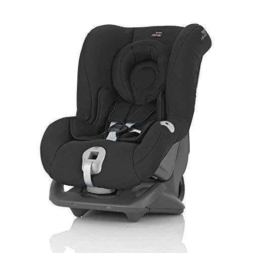 Britax Römer Reboarder Kindersitz 0 - 4 Jahre | 0 - 18 kg | FIRST CLASS PLUS Autositz Gruppe 0+/1 | Cosmos Black