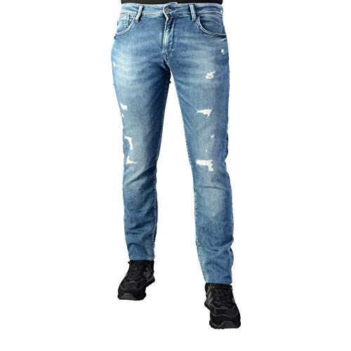 Le Temps des Cerises LTC Herren Jogg Jeans WM165 WM168 Farbe Blue, Größe 29