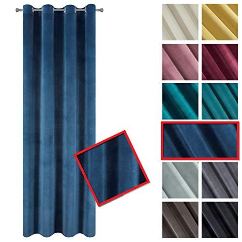 cortinas salon terciopelo