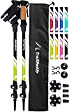 TrailBuddy Lightweight Trekking Poles - 2-pc Pack...