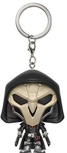 Overwatch Llavero de Vinilo Reaper, Color Beige, Negro (Funko 14311)