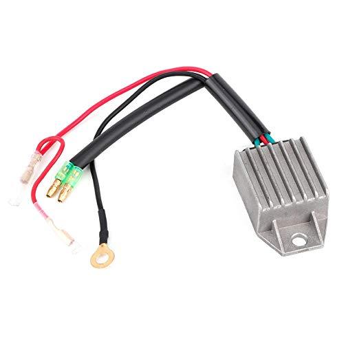 Spanningsregelaar, gelijkrichter voor spanningsregelaar van aluminiumlegering voor 2-takt 15-PS-buitenboordmotor