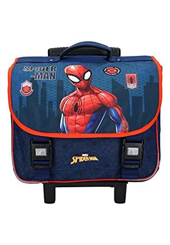 Vadobag Spider-Man Be Strong Kinder-Rucksack Schul-Trolley Schulranzen Schultasche Tornister Trolley