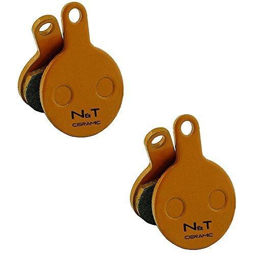 2 x Noah and Theo nt-bp014/CR Keramik Scheibenbremsen Beläge für Tektro Novela und md-m311. auch kompatibel mit Polster Modelle iox.11