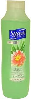 Suave Naturals Shampoo, Aloe Vera & Waterlily, 22.5 Ounce