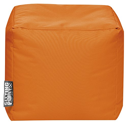 SITTING POINT only by MAGMA Sitzsack Scuba Cube 40x40x40cm orange (Outdoor)
