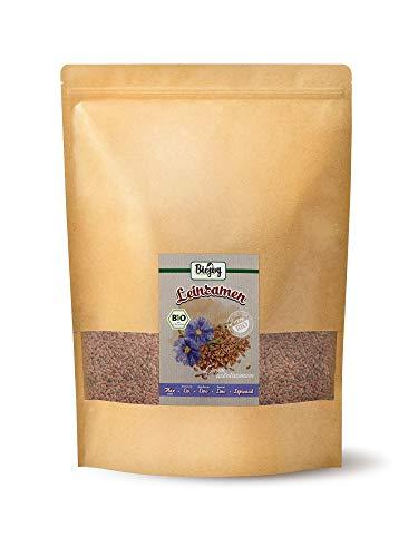 Biojoy Graines de lin BIO, brunes & entières (2,5 kg)