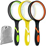 Best Magnifying Glasses - 3 Pack 10X Magnifier Magnifying Glass for Kids Review