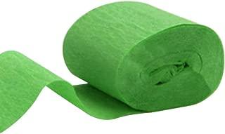 grün 0,30 EUR//m Papier Luftschlange Krepp 4,4 x 247 cm Kreppband Deko