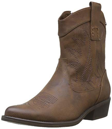 MTNG Collection 58027, Botines para Mujer, Marrón (Vintage Marron C47320), 39 EU
