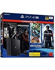 PlayStation 4 Pro - konsola (1 TB, czarna) PS Hits Naughty Dog Bundle