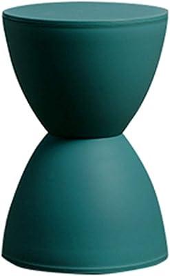 Tingting-stools, Hourglass Decoration Child Nordic Change Shoes Short Solid Color Plastic Living Room