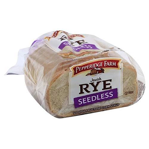 Pepperidge Farm RYE Bread Jewish SEEDLESS 16 OZ Each (1)