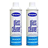 Zinshine 2 Packs Glass Cleaner Spray No Ammonia, Window and Mirror Cleaner, Streak Free Glass Cleaner for Cars,19oz