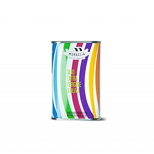 Muraglia - Natives Olivenöl Extra Regenbogen Kanister (Intensiv Fruchtig) 250ml