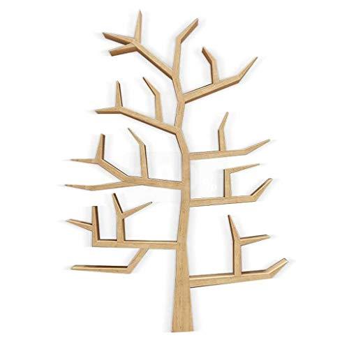 Libreria Scaffale for libri Moderno pavimento creativo Scaffali in legno massiccio a forma di albero Scaffale provinciale for bambini Studio di personalità Personalità Libreria for bambini creativo li