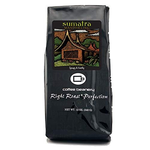 Coffee Beanery Sumatra Mandheling 12 oz....