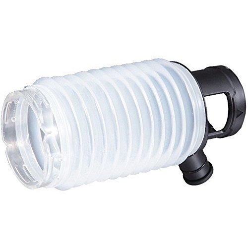 MAKITA 195173-3 195173-3-Recolector de Polvo de 80 mm con Posibilidad de aspiracion para Modelos r2300/HR2600/01/10/11f, Color Blanco, ESAQ-325