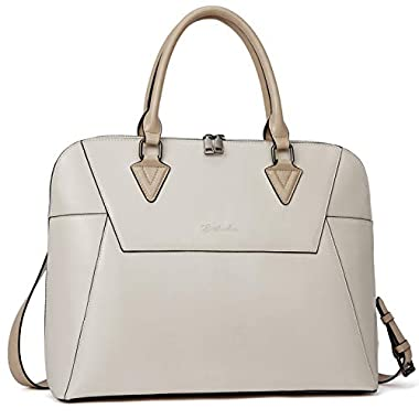 BOSTANTEN Briefcase for Women Leather 15.6 inch...