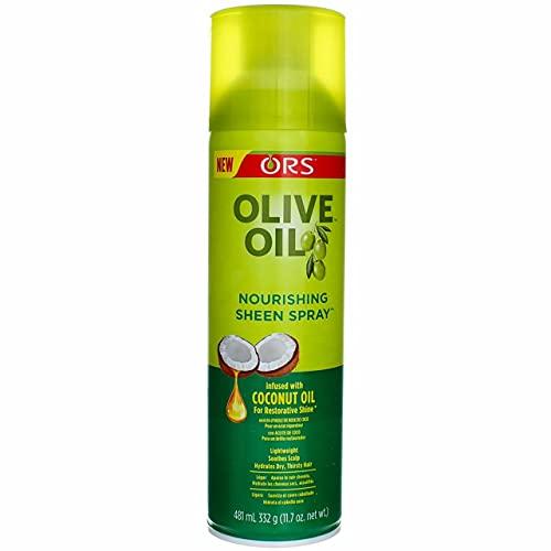 Organic Root Stimulator Olive Oil Sheen Spray 481ml (Haaröl)