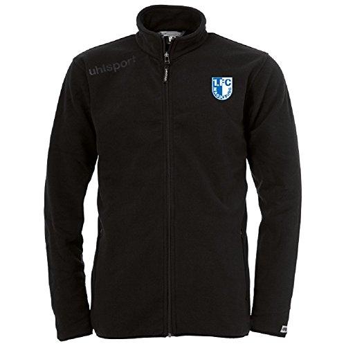 1. FC Magdeburg Uhlsport Fleece Jacke (M, anthrazit)