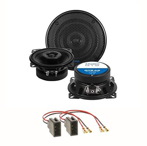 Crunch GTS-42 Lautsprecher Einbauset für Citroen C1 Toyota Aygo Peugeot 107 Armaturenbrett