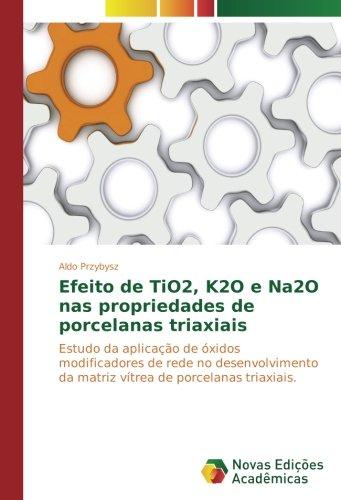 Efeito de TiO2, K2O e Na2O nas propriedades de porcelanas triaxiais: Estudo da aplicação de óxidos modificadores de rede no desenvolvimento da matriz vítrea de porcelanas triaxiais.