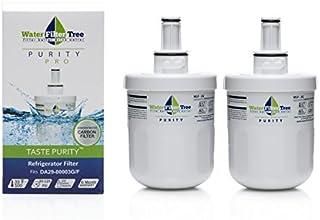 Filtre à eau WLF-3G Filtre d'eau de rechange pour DA29-00003G / DA29-00003F / DA29-00003B / DA29-0003A, 2 pièces