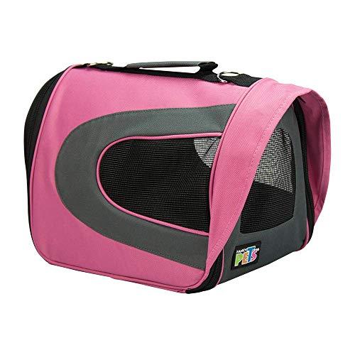 caja transportadora para perro chico fabricante Fancy Pets