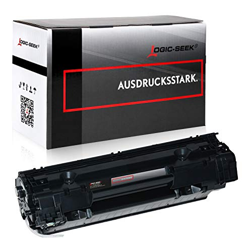 Logic-Seek Toner kompatibel zu HP ce285a schwarz 2.100 Seiten