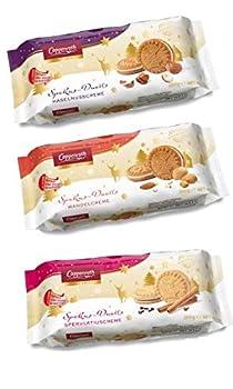 Coppenrath Spekulatius Windmill Sandwich Cookie 200g | Cinnamon Almond and Hazelnut Cream-Filled Cookies  1 of Each  in Bigger Things Packaging