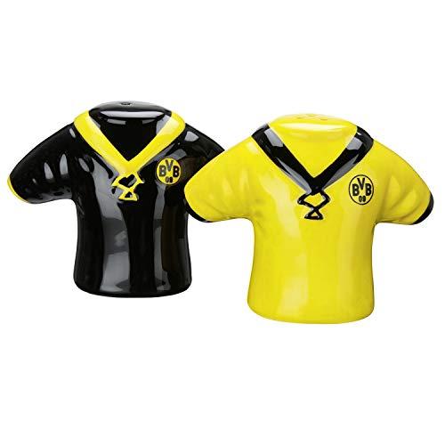 Borussia Dortmund Salz & Pfeffer Streuer 2er Set im neuen Trikot Design BVB 09