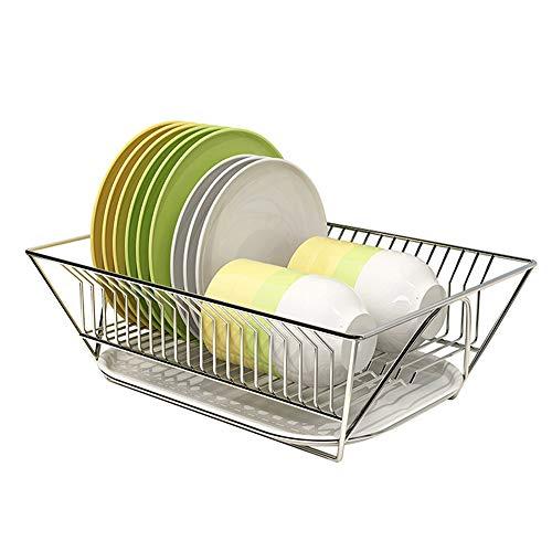 Edelstahl Abtropfgestell Trocknen Rack Abnehmbare Rost Beweis Utensil Holde Für Küche Zähler Lagerung Rack