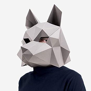 wolf mask diy