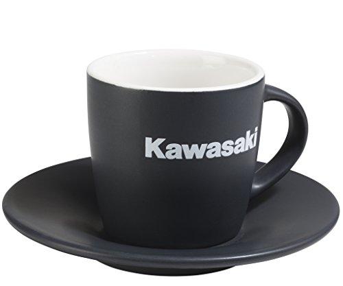 KAWASAKI CUP & SAUCER Geschirr Racing 160ml von Motorrad Jankwitz 122SPM0024