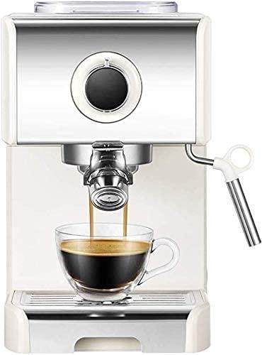 Semiautomático Maquina de cafe, 1250W Maquina de cafe cafetera express 20 bares capuchino...