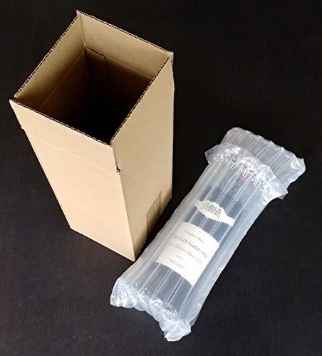 Evergreen Goods Ltd enkele wijn en bier fles verpakking doos (50), bruin, een maat