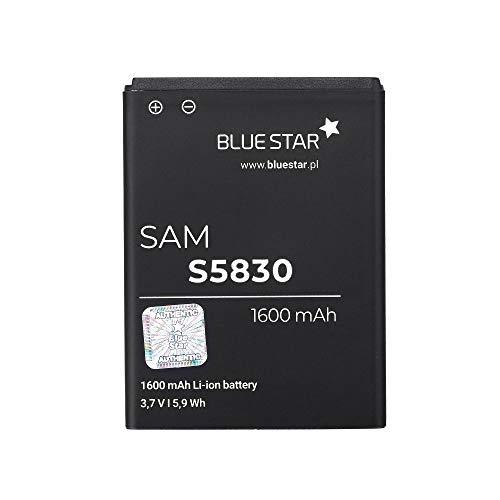 Blue Star Premium - Batería de Li-Ion litio 1600 mAh de Capacidad, Carga Rapida 2.0