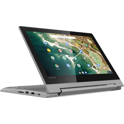 Lenovo (11.6 Zoll HD matt) Laptop (Mediatek MT8173C, 4GB DDR3 RAM, 64GB Flash, PowerVR GX6250, WLAN, Bluetooth, HDMI, USB 3.0, Chrome OS) Grau