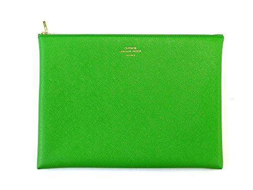 [DELFONICS] Quitterie Multifunctional pouch size L QR11 LIGHT GREEN