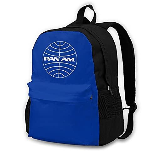 Pan Am Universal Backpack Kawaii School Bag Waterproof Travel Backpack Laptop Backpack School Bag For Men Women Boy Girl