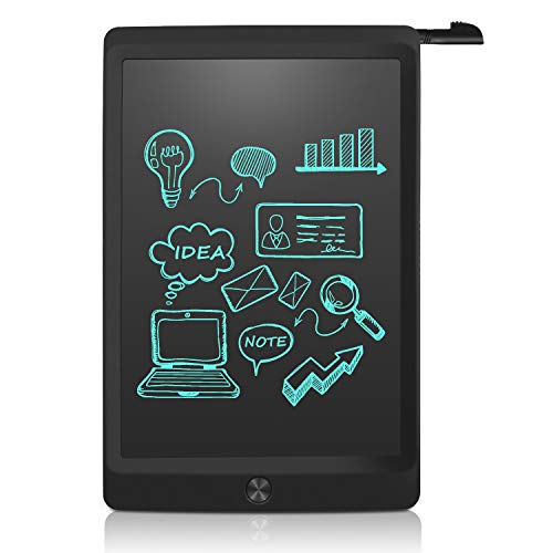 NEWYES LCD Tablet da Scrittura Portatile con Chiave di Blocco, Lunghezza 10 Pollici(Nero)