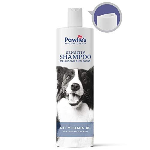 Pawlie's Natürliches Hundeshampoo gegen Juckreiz   Hundeshampoo Welpen, Hundeshampoo Langhaar, Milbenshampoo, Welpenshampoo für Hunde, Hundeshampoo Sensitiv   Hundeshampoo gegen Geruch, Dog Shampoo