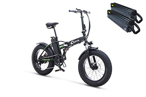 Ceaya Bicicleta Electrica 48V Plegable - E-Bike 20
