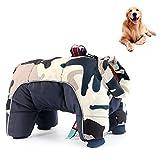 MAFANG® Hundemantel, Winter Wasserdicht Hundemantel, Hundejacke Rollkragen Warm Hundejacke Hund...