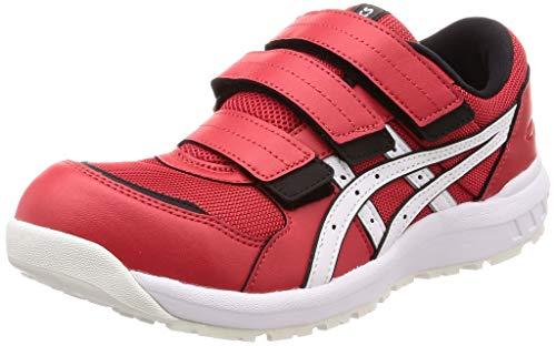 [アシックス] ワーキング 安全靴/作業靴 ウィンジョブ CP205 2E相当 JSAA A種先芯 耐滑ソール メンズ fuzeGEL搭載 クラシックレッド/ホワイト 28.0 cm