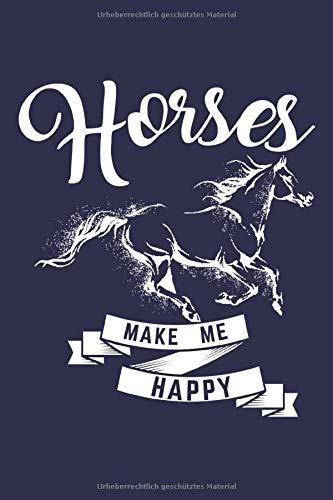 Reiten Notizbuch: Ein cooles Journal für alle Pferdeliebhaber